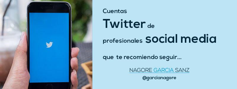 Cuentas twitter de profesionales social media